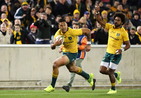 Israel Folau of the Wallabies has been ruled out of action for this weekend's Rugby Championship