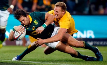Rugby Championship: Jan Serfontein, South Africa v Australia