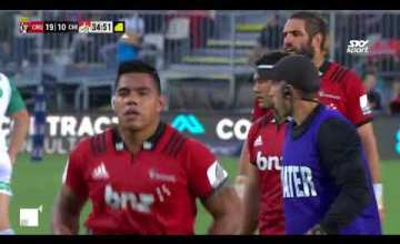 Crusaders v Chiefs Rd.2 2018 Super Rugby video highlights