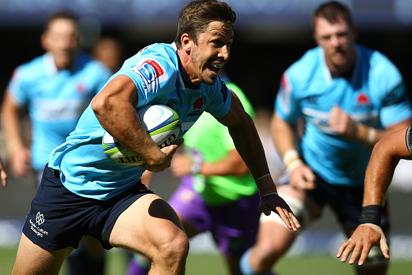 Jake Gordon will earn his 50th Super rugby cap for the Waratahs