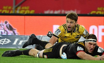 Beauden Barrett of the Hurricanes returns this weekend