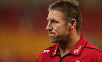 Reds Super rugby head coach Brad Thorn