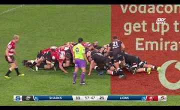 Super Rugby, Super 15 Rugby, Super Rugby Video, Video, Super Rugby Video Highlights ,Video Highlights, Sharks, Lions , Super15, Super 15, SuperRugby
