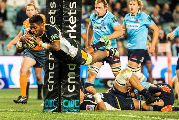 Isi Naisarani of the Brumbies will play for Australia