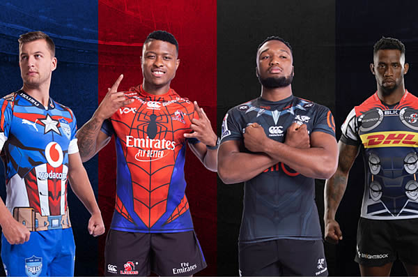 8c5b7205171 SA Super rugby 'Super hero' jerseys unveiled - Super Rugby   Super 15 Rugby