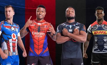 SA Super rugby 'Super hero' jerseys unveiled