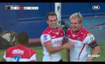 Super Rugby, Super 15 Rugby, Super Rugby Video, Video, Super Rugby Video Highlights ,Video Highlights, Jaguares, Lions, Super15, Super 15, SuperRugby