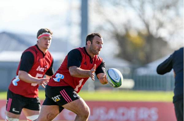 Crusaders prop Tim Perry broke his arm in the Super rugby season opener