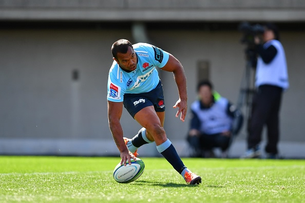 Kurtley Beale will play Super rugby at fullback again this weekend
