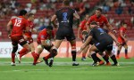 Malcolm Marx (Centre) of the Lions has re-committed to the Johannesburg Super rugby side