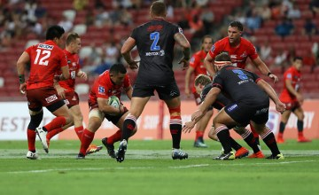 Malcolm Marx scored a brace as the Lions beat the Sunwolves in Singapore