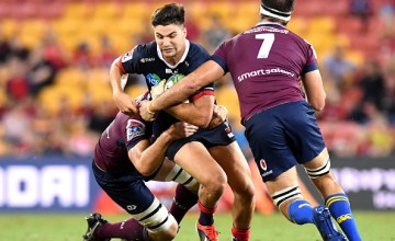 Jack Maddocks scored a brace of tries in the Rebels super rugby victory over the Reds