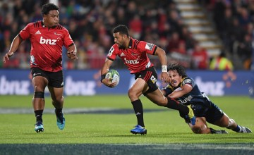 Richie Mo'unga of the Crusaders