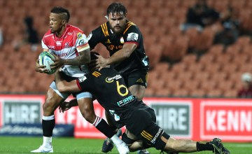 Elton Jantjies leads the Lions to victory over the Chiefs at FMG Stadium, Hamilton