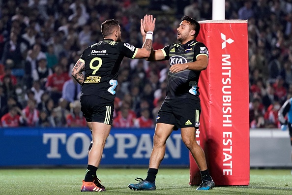 TJ Perenara makes his 127th super rugby appearance for the Hurricanes