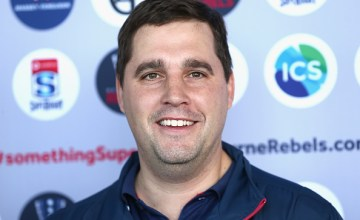 Rebels Super rugby head coach Dave Wessels