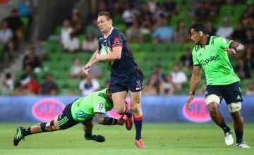 Rebels Super rugby Captain Dane Haylett-Petty