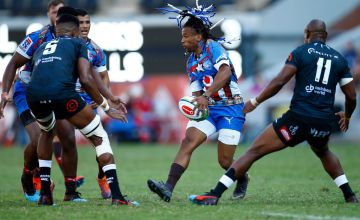 Rosko Specman of the Bulls on attack during the Super Rugby match between Sharks and Bulls at Kings Park