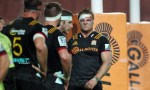 Chiefs Sam Cane looks on during the round 15 match between the Chiefs and the Reds