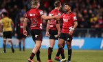 Richie Mo'unga led the Crusaders to a semi-final victory over the Hurricanes in a thrilling Super Rugby match at AMI Stadium, Christchurch