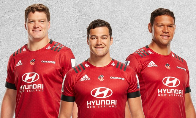Crusaders to play with new Super rugby logo