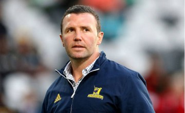Highlanders Super rugby head coach Aaron Mauger