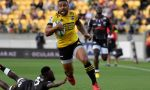 Ngani Laumape of the Hurricanes