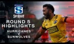 Hurricanes v Sunwolves Rd.5 2020 Super rugby video highlights