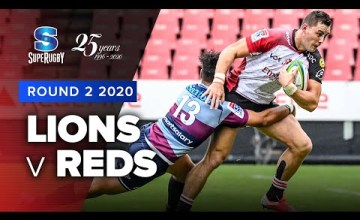 Lions v Reds Rd.2 2020 Super rugby video highlights