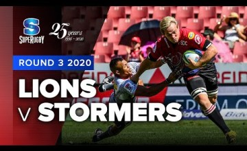 Lions v Stormers Rd.3 2020 Super rugby video highlights