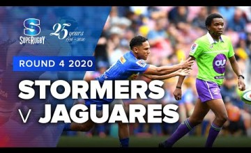 Stormers v Jaguares Rd.4 2020 Super rugby video highlights
