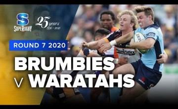 Brumbies v Waratahs Rd.7 2020 Super rugby video highlights