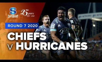 Chiefs v Hurricanes Rd.7 2020 Super rugby video highlights