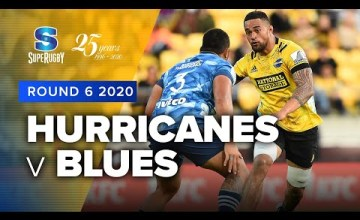 Hurricanes v Blues Rd.6 2020 Super rugby video highlights