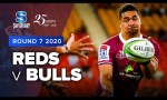 Reds v Bulls Rd.7 2020 Super rugby video highlights