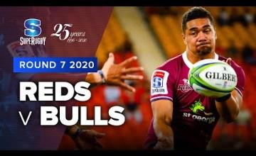 Reds v Bulls Rd.7 2020 Super rugby video highlights