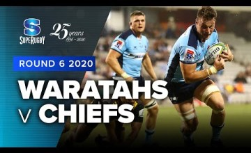 Waratahs v Chiefs Rd.6 2020 Super rugby video highlights