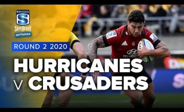 Hurricanes v Crusaders Rd.2 2020 Super rugby Aotearoa video highlights
