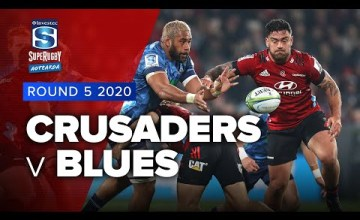 Crusaders v Blues Rd.5 2020 Super rugby Aotearoa video highlights
