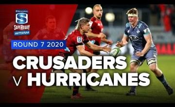 Crusaders v Hurricanes Rd.7 2020 Super rugby Aotearoa video highlights