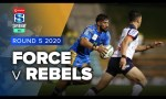 Force v Rebels Rd.5 2020 Super rugby AU video highlights | Super Rugby AU Video Highlights
