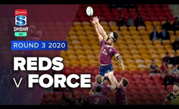 Reds v Western Force Rd.3 2020 Super rugby AU video highlights
