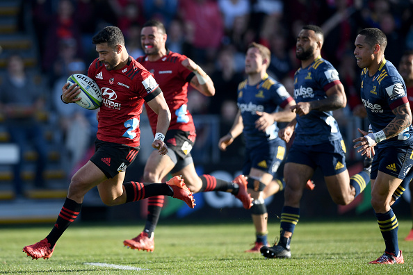 Majestic Richie Mo'unga stars as the Crusaders claim maiden Super Rugby Aotearoa title with 32-22 victory over the Highlanders at Orangetheory Stadium, Christchurch