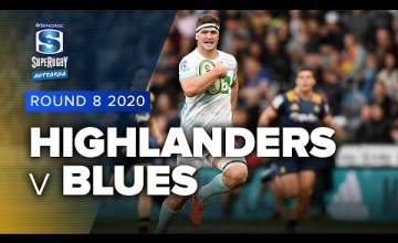 Highlanders v Blues Rd.8 2020 Super rugby Aotearoa video highlights | Super Rugby Aotearoa Video Highlights