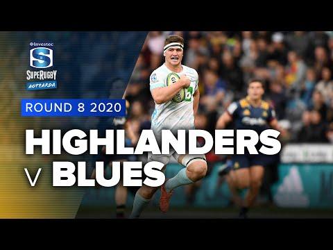 Highlanders v Blues Rd.8 2020 Super rugby Aotearoa video highlights | Super Rugby Aotearoa Video Highlights