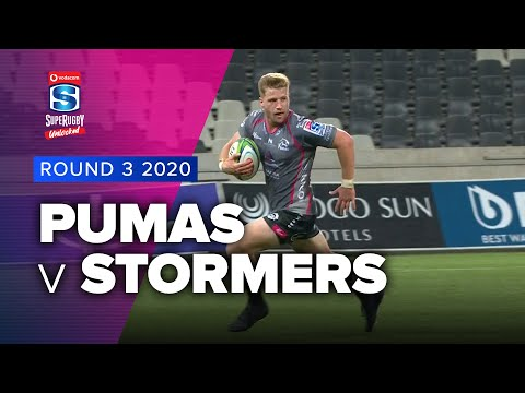 Pumas v Stormers Rd.3 2020 Super rugby unlocked video highlights | Super Rugby unlocked Video Highlights