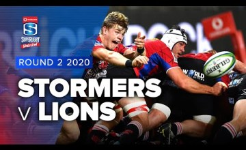 Stormers v Lions Rd.2 2020 Super rugby unlocked video highlights