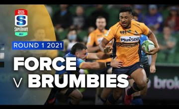 Western Force v Brumbies Rd.1 2021 Super rugby AU video highlights | Super Rugby AU Video Highlights