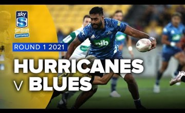 Hurricanes v Blues Rd.1 2021 Super rugby Aotearoa video highlights | Super Rugby