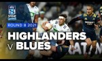 Highlanders v Blues Rd.8 2021 Super rugby Aotearoa video highlights